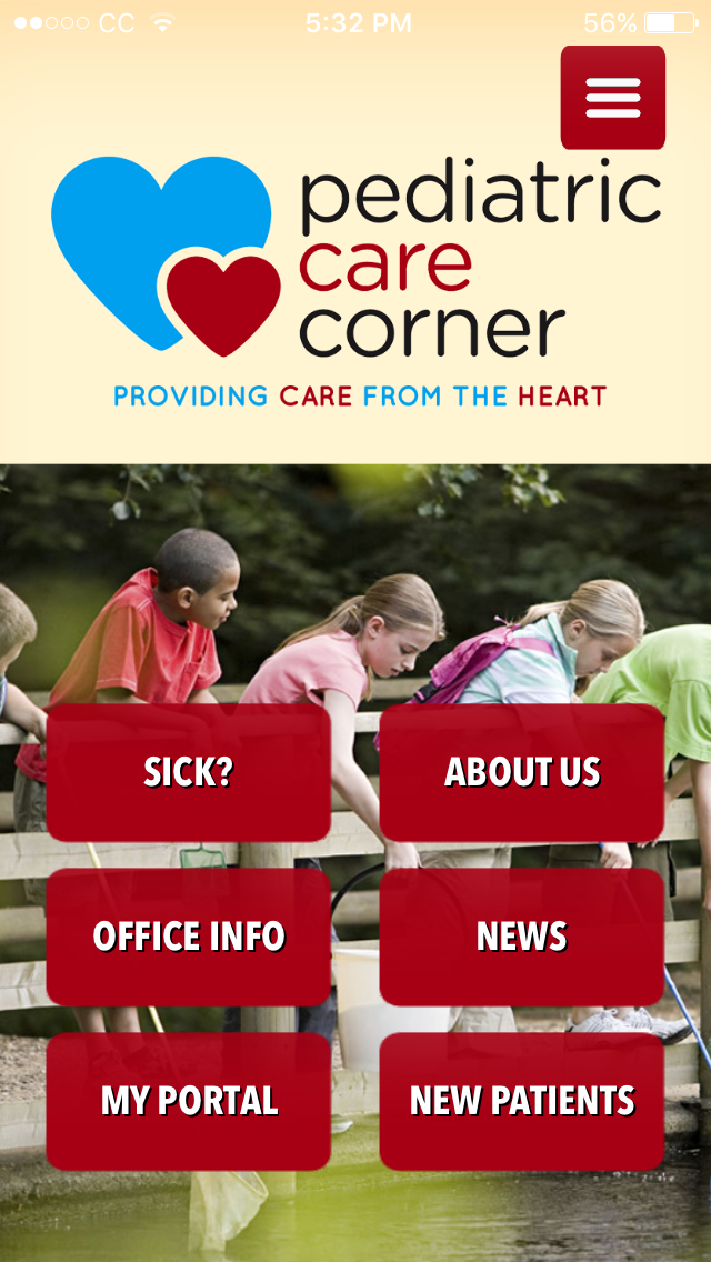 Pediatric Care Corner Mobile App